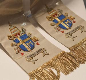 Ausstellungen zu Papst Johannes Paul II. Bild: (CNS/Paul Haring)