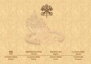 Hommage an Johannes Paul II. auf der Vatikan-Homepage