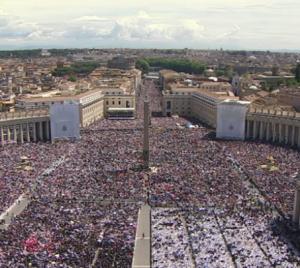 Pfarrer Alfred Stürmer erlebte die Seligsprechung Johannes Pauls II. in Rom