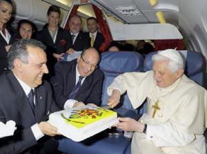 Dem Papst gratulieren
