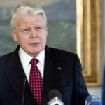 Besuch von der Insel, isländischer Präsident Olafur Ragnar Grimsson