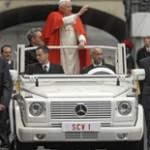 Papamobil des Papstes