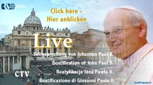 Beatification, Seligsprechung, Beatyfikacja, Beatificzione