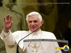 """Benedikt XVI.: """"Katholische Kirche ist seit Anbeginn universell"""""""